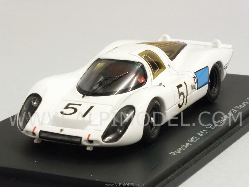 tienda Porsche 907 Daytona 1968 Schlesser - Buzzetta 1 1 1 43 SPARK S2986  Descuento del 70% barato