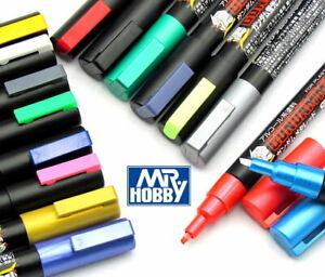 Mr Hobby Gundam Color Marker GM01-GM400 Gunpla Model Kit Paint Pen NEW