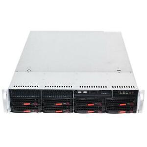 Supermicro-CSE-825TQ-2U-Case-Rackmount-Server-Chassis-3x-Fans-2x-700W-PS