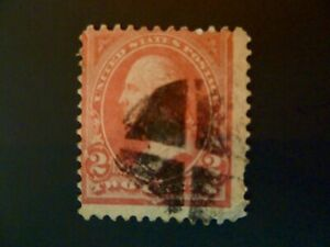 USA 1894 $.02 #248 Type I Washington Issue Used Fancy Cancel - See Description