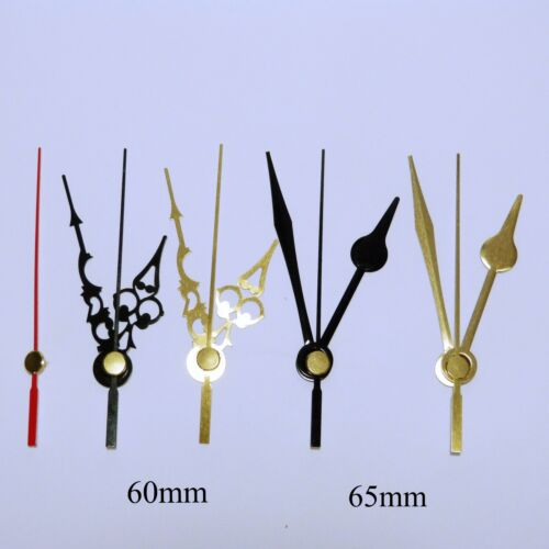 diy project Quartz ticking clock movement mechanism huge choice of hands craft