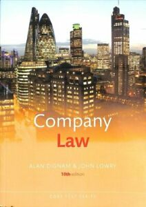 Company-Law-by-Alan-Dignam-9780198811831-Brand-New-Free-UK-Shipping