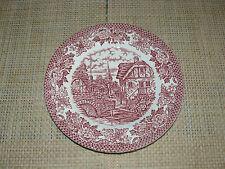 Kuchenteller - Merrie olde England - Hostess Tableware - rot