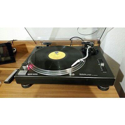 Technics SL-1210 MK2 Plattenspieler Turntable neue Haube neuer Tonabnehmer