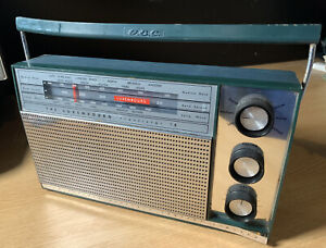 GEC General Electric Co. The Luxembourg Transistor 18 G818 Vintage 1964 Radio