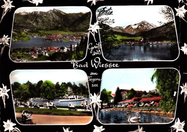 Bad Wiessee am Tegernsee , Ansichtskarte, 1971 gelaufen