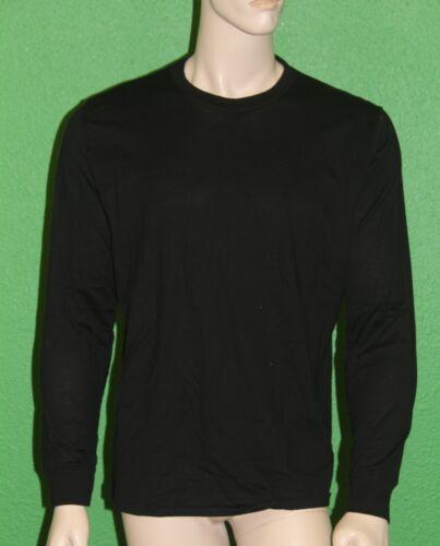 Large NEW $48 PETIT BATEAU Men/'s Black Long Sleeve Shirt Sz 16 Years