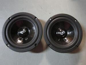 "2 NEW 6.5/"" Woofer Speakers.Sealed MidRange.8 ohm.6-1//2.PA.Pro Audio PAIR vocal"
