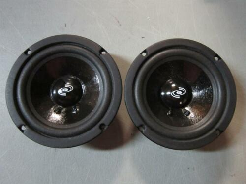 "2 NEW 5/"" Woofer Speakers.Sealed MidRange Pair.8 ohm.Five inch.PA.PRO Audio.5in"