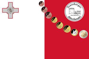 Malta Euro Kursmünzensatz * Jahr frei wählbar * in Schutzhülle *bfr/unz* - Borgholzhausen, Deutschland - Malta Euro Kursmünzensatz * Jahr frei wählbar * in Schutzhülle *bfr/unz* - Borgholzhausen, Deutschland