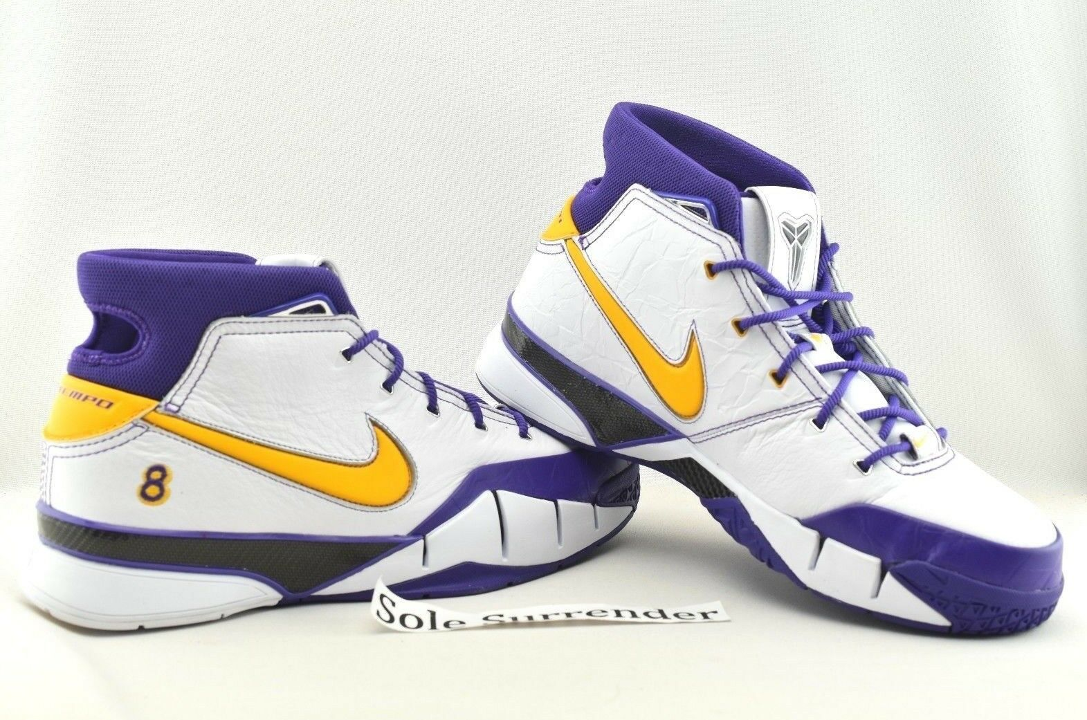 Nike Kobe 1 protro cerrar finales Elige tamaño aq2728-101 segundos finales cerrar Morado Oro Special limited time 5bba2d