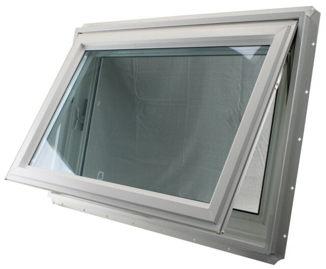 Awning Window 36 X 24 Tempered Gl Double Pane Venting Bathroom