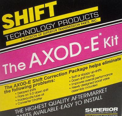 Ford AXODE AX4S Transmission Valve Body Shift Correction Kit Superior KAXOD    eBay
