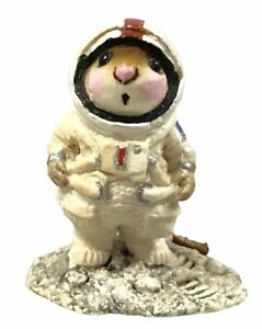 Wee-Forest-Folk-M-078-Moon-Mouse-1982-1984-Retired-W-BOX-Collectible-Rare