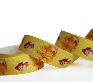 Disney-Princess-Prom-Dress-Grosgrain-Ribbon-1-034-25-mm-DIY-Hair-Bow-Head-band