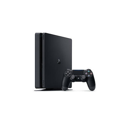 Playstation 4 PS4 Slim Console Black 500GB  *NEW*+Warranty!!