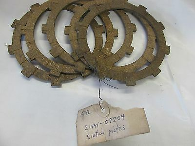 Suzuki S32-2   NOS CLUTCH PLATES  1963-1968 21441-09204  set of 6