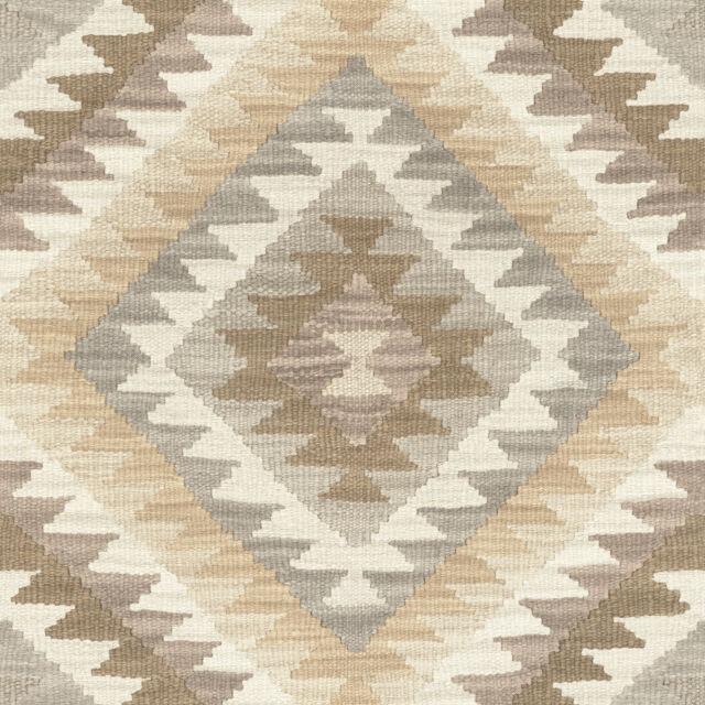 Rasch Tapete Bbarbara Maison Collection 527438 Losange Ethnique Gris Brun
