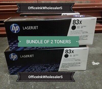 HP CF283X 83x High yield Black Toner Cartridge NEW Genuine SEALED BOX