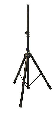 Genuine Njs Black 35mm Adjustable Heavy Duty Steel 45kg Max Sound Speaker Stand
