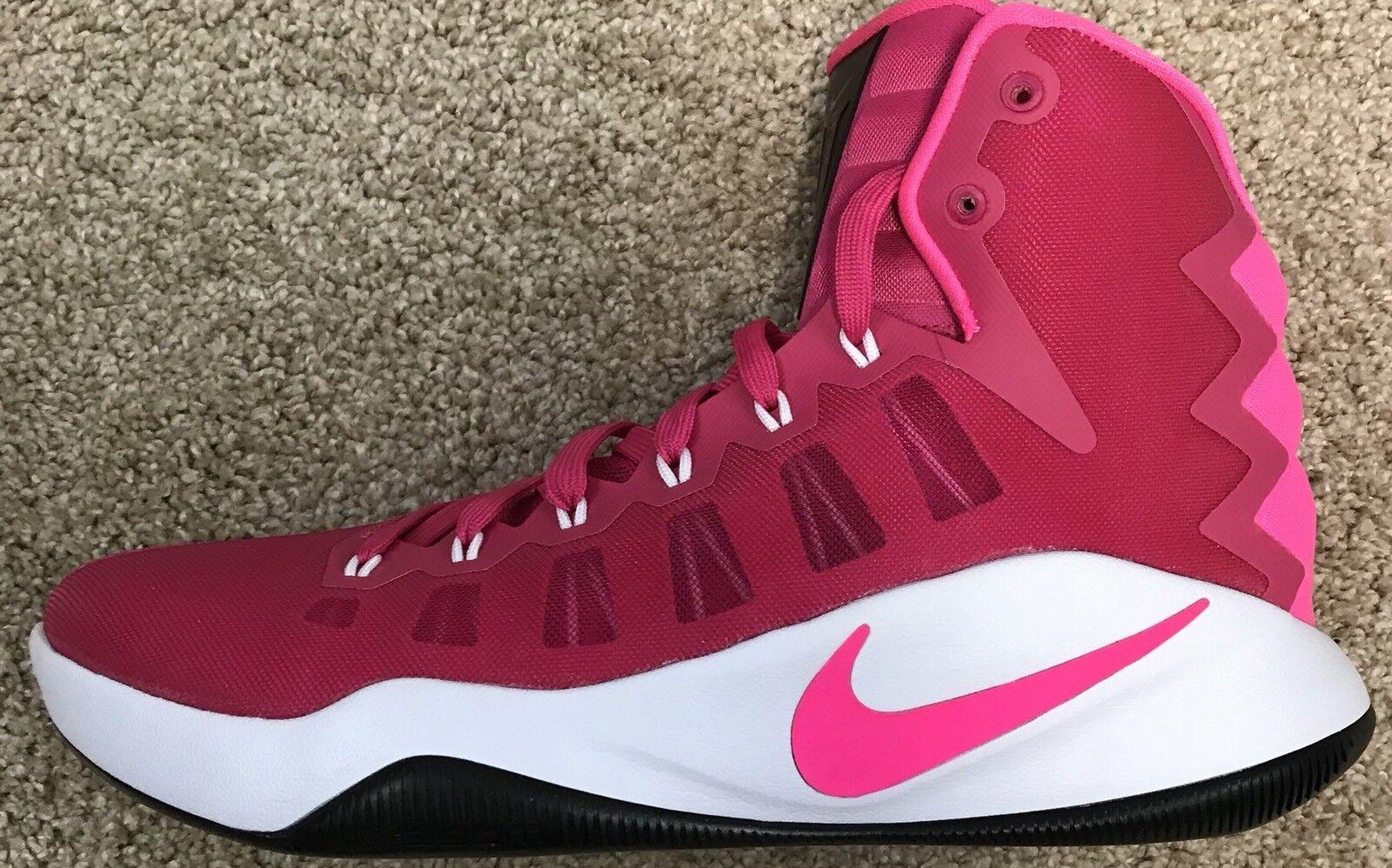 Nike Hyperdunk 2016 Basketball Breast Cancer Pink 844359-660 Men's 10.5