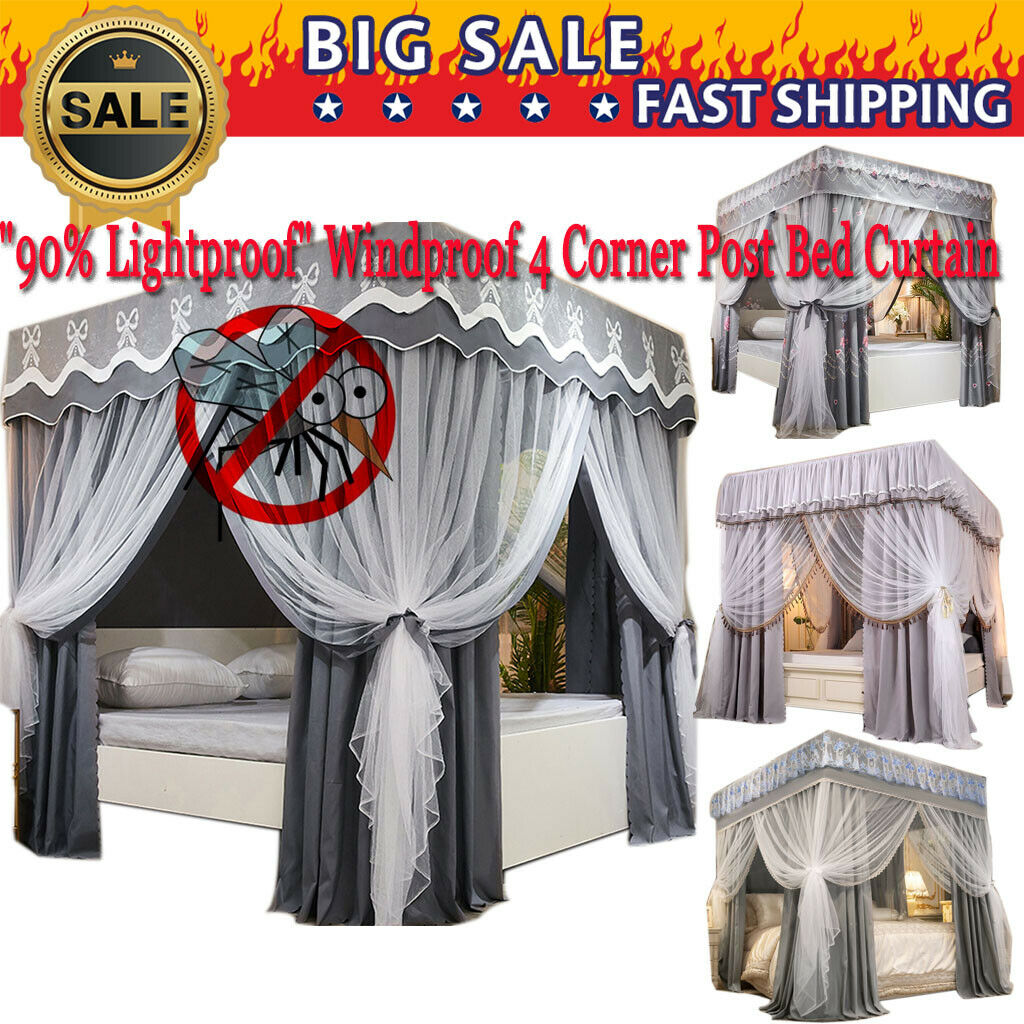 Lotus Karen Bed Canopies Drapes Princess Canopy Romantic Round Dome Double Net For Sale Online Ebay