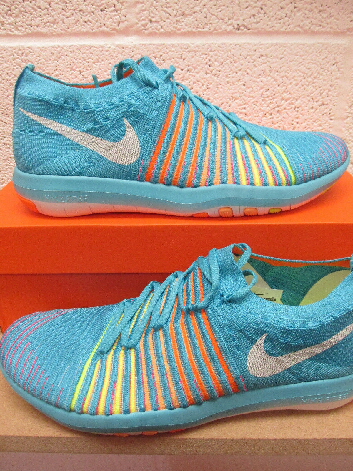 Nike Free Transform Flyknit femmes Running Chaussures Trainers 833410 400 Baskets Chaussures Running 4e11a7