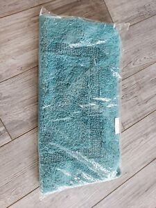 NEW-in-Bag-Abyss-amp-Habidecor-Bath-Rug-Teal-Green-Greenish-Blue-23x23