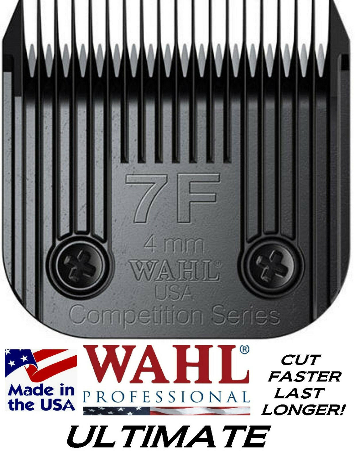 Wahl ULTIMATE COMPETITION Series A5 Clipper 7F BLADE 5 32 -4mmCUTS 3x FASTER