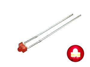 S176-20-Stueck-Miniatur-Mini-LEDs-1-8mm-ROT-diffus-LED-red