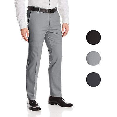 Boltini Italy Men/'s Flat Front Slim Fit Slacks Trousers Dress Pants