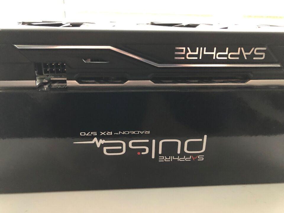 RX 570 Sapphire, 4 GB RAM, Perfekt