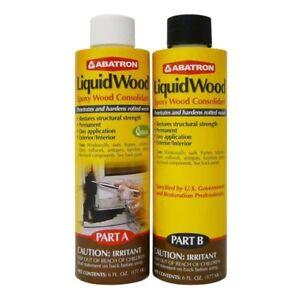 Abatron Lwab6or Liquid Wood Kit 12 Oz 51191331015 Ebay