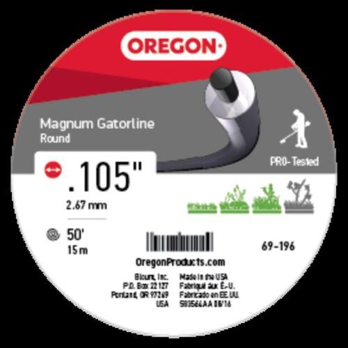 .105/'/' Genuine Oregon  Magnum Gatorline Round 50/' Part# 69-196