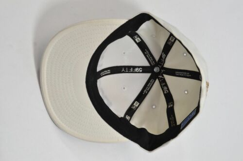 Matix MIKEY TAYLOR 2 White Tan Black Embroider Logo 59FIFTY Men/'s Hat