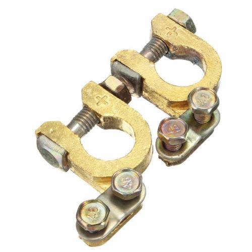 piccoli Morsetti Batteria 1000A positivo+negativo coppia auto trattori 12//13mm