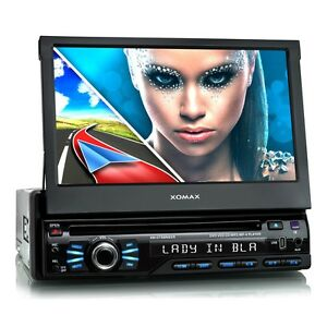 AUTORADIO-AVEC-NAVIGATION-GPS-BLUETOOTH-ECRAN-TACTILE-7-034-USB-SD-MP3-CD-DVD-1DIN