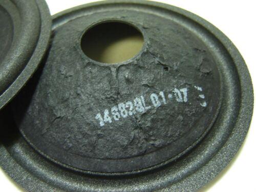 """146829 Speaker Parts Pair 5/"""" Paper Cone"""
