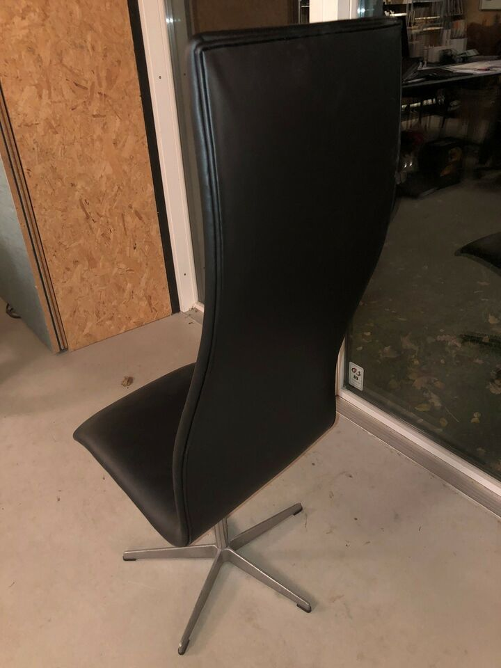 Arne Jacobsen, original Oxford stol høj ryg, Stol