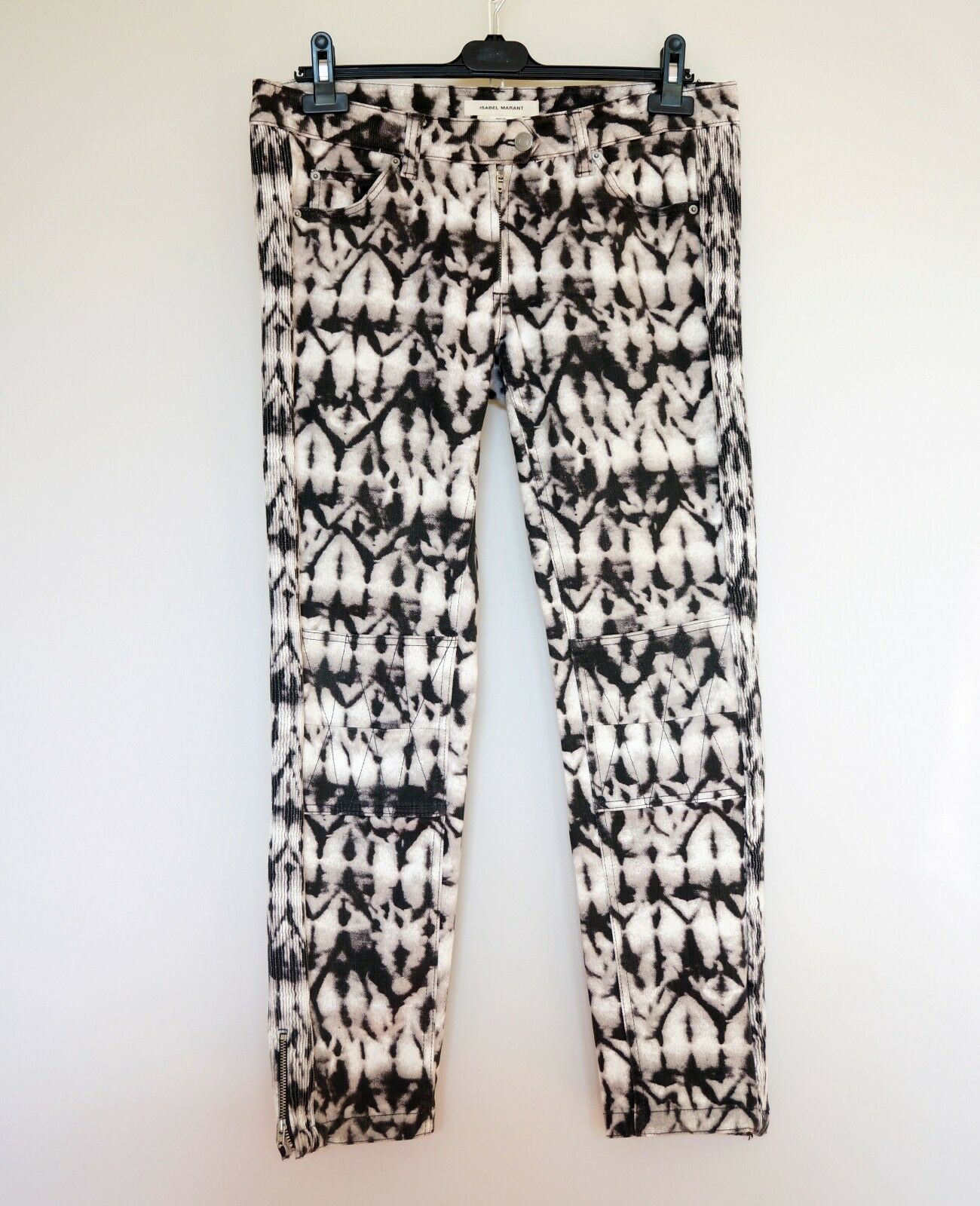 Isabel Marant Pour H&M Tie Dye Skinny Jeans Trousers Pants , Size