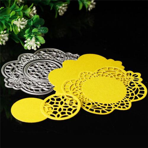 4pcs//set Cutting Dies Stencil Scrapbook Paper DIY Card Embossing Metal Decor