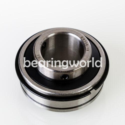 ER-204 NEW High Quality 20MM Set Screw Insert Bearing SER204-20MM