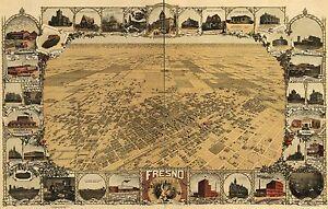 MINNESOTA 1891 A.M SMITH COPY POSTER MAP BIRD/'S EYE VIEW OF MINNEAPOLIS