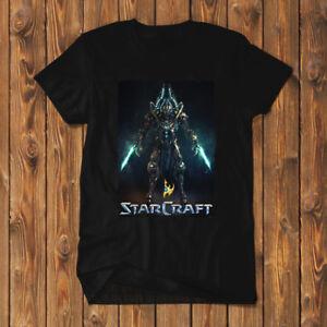Starcraft-Protoss-Shirt-T-Shirt-Men-Black-Tees-SC2-R01