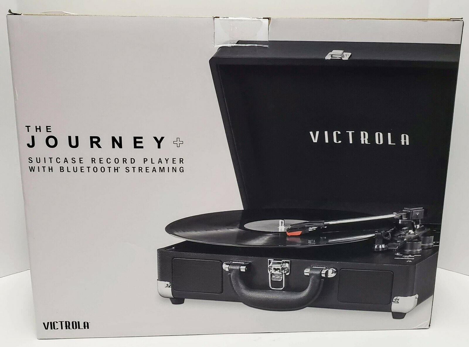 Victrola Journey + Suitcase Record Player With Bluetooth Streaming (New) bluetooth journey player record streaming suitcase victrola with