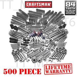 978fd61bae8 Image is loading Craftsman-500-Piece-Mechanics-Tool-Set-Professional-Garage-