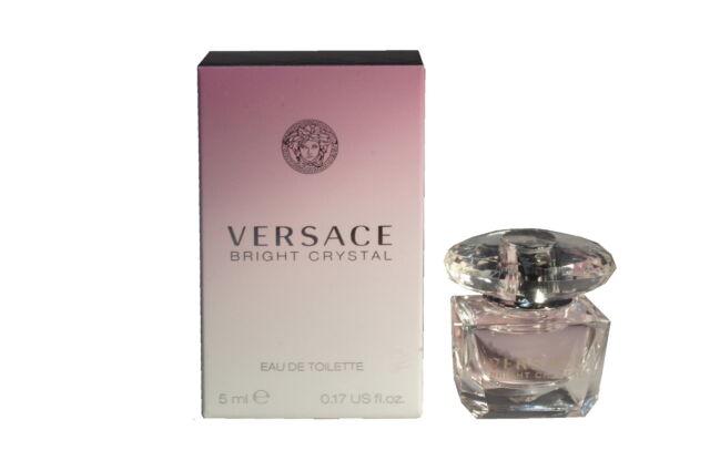 Mini Miniature Versace Bright Crystal Woman Travel Perfume 5ml EDT