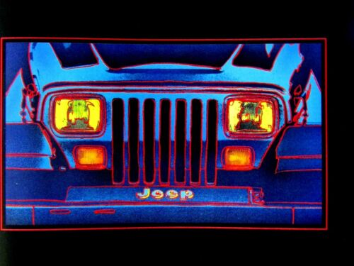 1994 Jeep Wrangler This Theme Park Only Has One Ride Original Print Ad 8.5 x 11/""