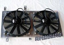 1994-2001 fit for Acura Integra Radiator Fan Shroud New w/ Fans