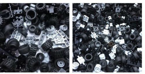 16 Tyres LEGO NEW 8 Axles 4 Types 4 Vehicle Pairs Per Order 16 Wheels